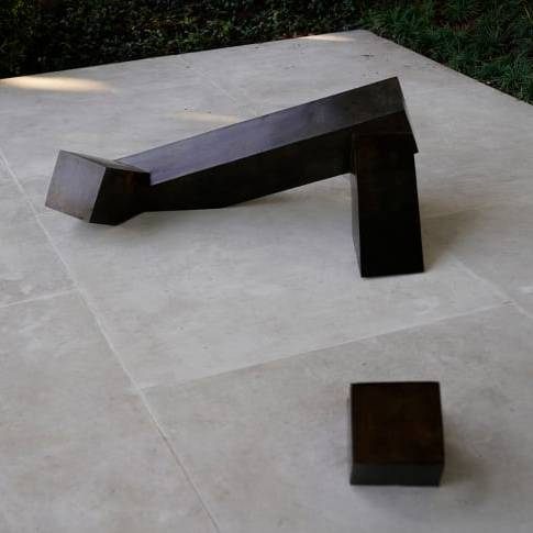 Noguchi is the first Asian American artist to be featured in the White House collection. Credit: Jacquelyn Martin/AP